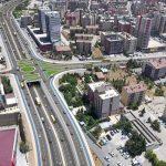 Mardin Kızıltepe Köprülü Kavşağı Time lapse
